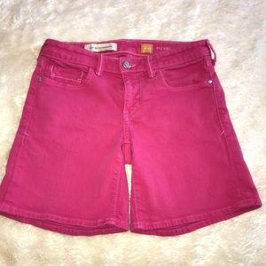 Pilcro by Anthropologie pink denim shorts